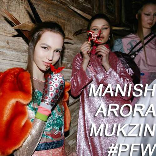 Manish Arora / Mukzin |Fw 18-19| Paris Fashion Week