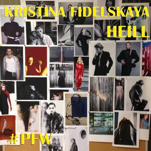 Kristina Fidelskaya / Heill |Fw 18-19| Paris Fashion Week